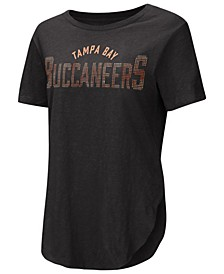 Women's Tampa Bay Buccaneers Touch Rosegold Stone T-Shirt