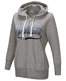 Touch by Alyssa Milano Women's Seattle Seahawks Touch Glitter Hoodie