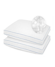 SensorPedic 2 Pack SofLoft Extra Firm Density Standard Pillow