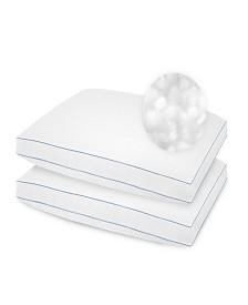 SensorPedic 2 Pack SofLoft Extra Firm Density Standard Pillow