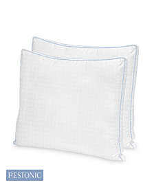 Restonic 2 Pack TempaGel Max Cooling Pillow Collection