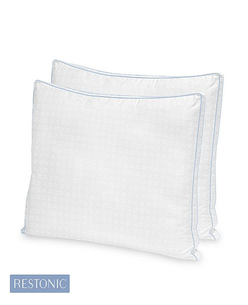 Restonic 2 Pack TempaGel Max Cooling Gel Beads and Memory Fiber Pillow Collection