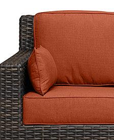 Viewport Outdoor Sofa Replacement Sunbrella® Cushion, Quick Ship