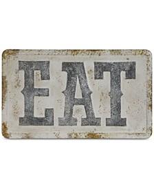 ''EAT'' Metal Wall Décor