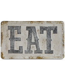 ''EAT'' Metal Wall Décor