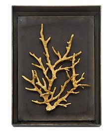 Ocean Coral Shadow Box