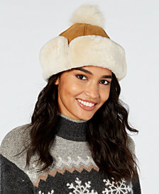 UGG® Flap Shearling Hat