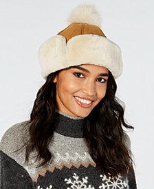 UGG® Flap Shearling Hat