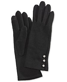 Logo-Button Touch Gloves