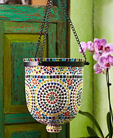 Rio Lights MultiColor Mosaic Hanging Lantern