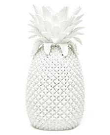 White Pineapple Decorative Vase