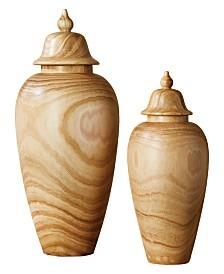 Temple Jars, Set of 2