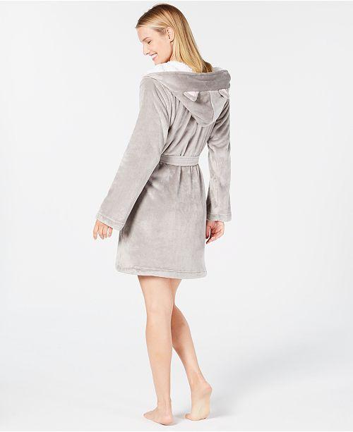 23d9cd6244 Jenni Hooded Cat Wrap Robe