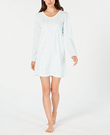 Charter Club Thermal Sleepshirt, Created for Macy's