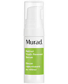 Receive a FREE Deluxe Retinol Youth Renewal Serum with $45 Murad Purchase!