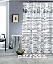 "DKNY Vibe 72"" x 72"" Twill Shower Curtain"