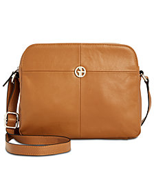 Giani Bernini Nappa Camera Crossbody, Created for Macy's
