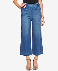 CeCe Cotton Culotte Jeans