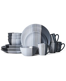 Parker 16-Pc. Dinnerware Set, Service for 4