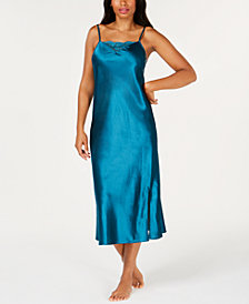 Thalia Sodi Lace-Trim Nightgown, Created for Macy's