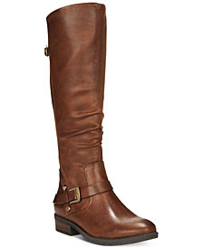 Baretraps Yanessa Riding Boots, Created for Macy's