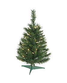 "24"" Imperial Pine Artificial Christmas Tree with 50 Clear Lights"