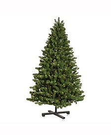 7.5' Medium Grand Teton Artificial Christmas Tree with 750 Warm White LED Lights