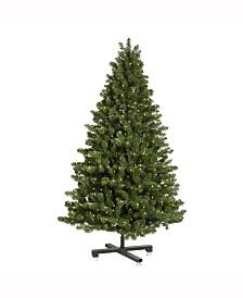 Vickerman 7.5' Medium Grand Teton Artificial Christmas Tree with 750 Warm White LED Lights
