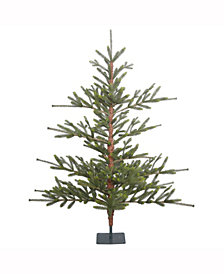 5' Bed Rock Pine Artificial Christmas Tree Unlit