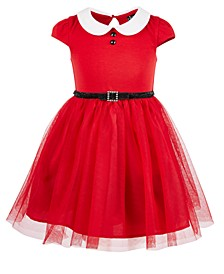Little Girls Santa Dress