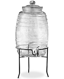 Jay Imports Colfax 320-Oz. Beverage Dispenser with Stand
