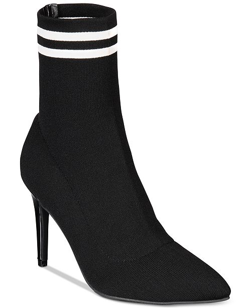 6cca3238bf4 Material Girl Paisley Sock Booties