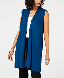 Alfani Vest Cardigan, Created for Macy's