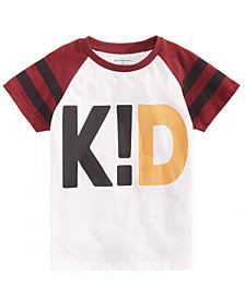 First Impressions Baby Boys Kid-Print T-Shirt, Created for Macy's