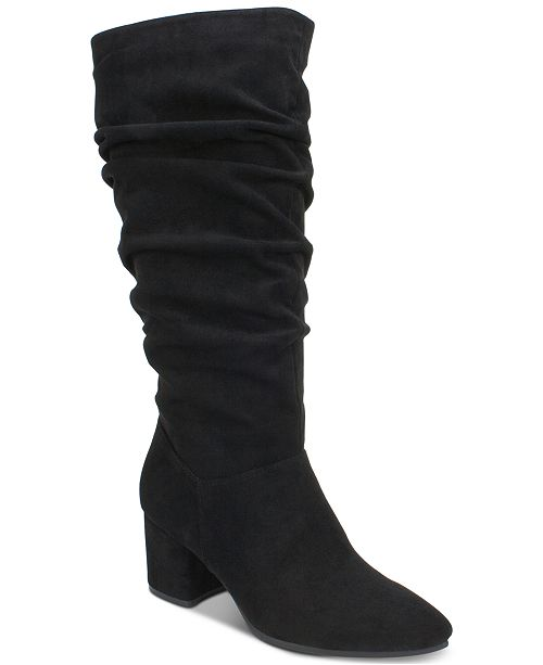 8c3d2ccf7226 Seven Dials Norbury Block-Heel Dress Boots   Reviews - Boots ...