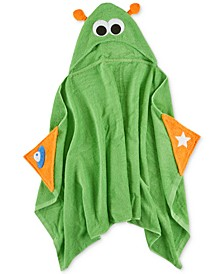 Stellar Space Cotton Hooded Bath Towel, Created for Macy's