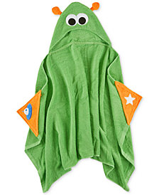 Urban Dreams Stellar Space Cotton Hooded Bath Towel, Created for Macy's