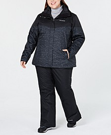 Plus Size Waterproof Interchange Jacket & Waterproof Pants