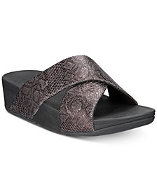 FitFlop Lulu Slide Sandals