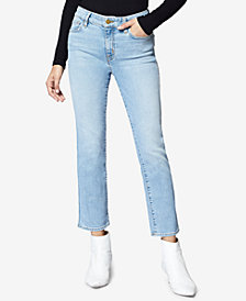 Sanctuary Cropped Straight-Leg Jeans