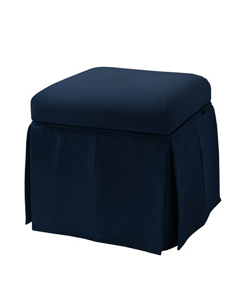 Peachy Stacy Storage Vanity Stool Machost Co Dining Chair Design Ideas Machostcouk