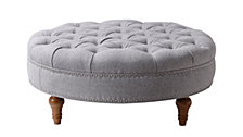 Josephine Round Tufted Bench