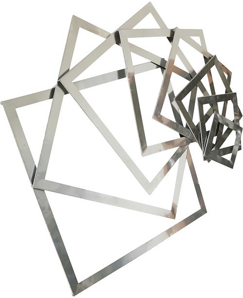 Moe's Home Collection Iron Squares Wall Decor