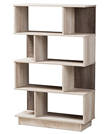 Teagan Display Bookcase, Quick Ship