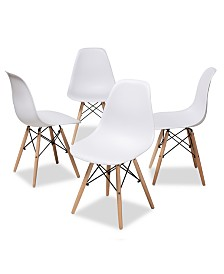 Sydnea Dining Chair (Set Of 4), Quick Ship