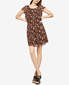 BCBGeneration Flutter-Sleeve A-Line Dress