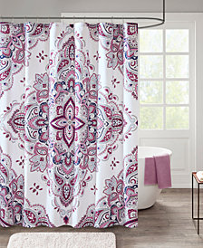 "510 Design Amari 72"" x 72"" Printed Shower Curtain"