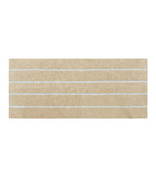 "Madison Park Adrien 24"" x 60"" Cotton Tufted Stripe Rug"