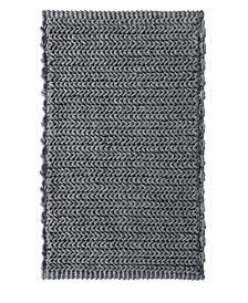 "Lasso 24"" x 40"" Pieced Dyed Chain Stitch Rug"