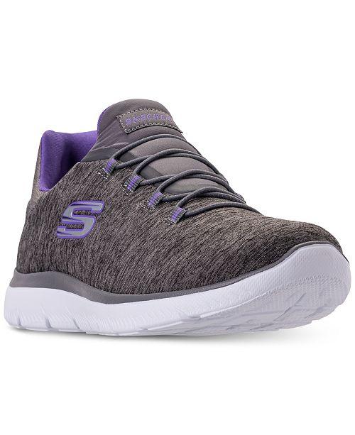 11e7eeb3f64b ... Skechers Women s Summits - Quick Getaway Wide Width Walking Sneakers  from Finish ...